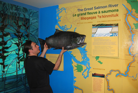 Great Salmon River exhibit