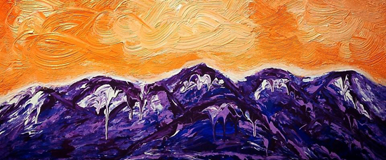 """Sunrise at the Summit"", Patti Shonek, 2013"