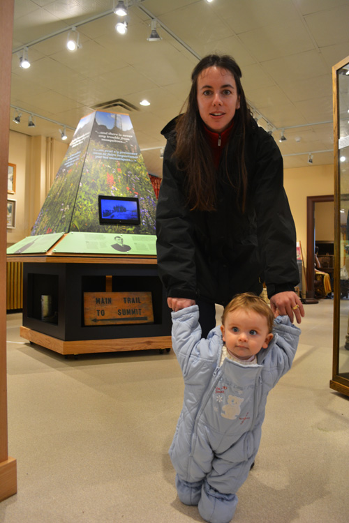 Photo from the April 26, 2014 Centennial Celebration in and around the Revelstoke Museum and Archives