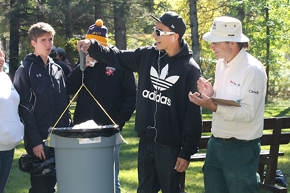 Clear Lake Cleanup Volunteers at Weigh in