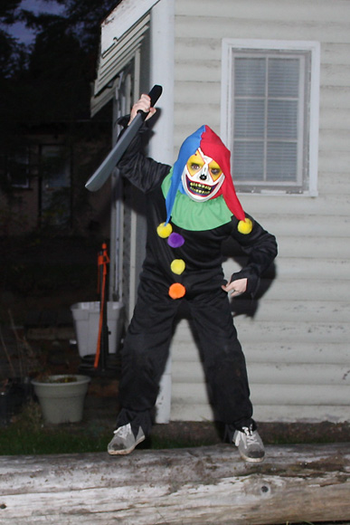 Scary Kid Clown