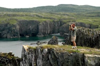 Spillar's Cove Trail, near Bonavista, is a spectacular hike with stunning views of shear cliffs, sea stacks, the ocean, birds and whales