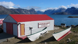 Hudson Bay buildings in Pangnirtung