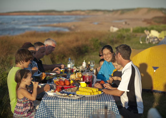 Join us at one of our three campgrounds located within Prince Edward Island National Park.