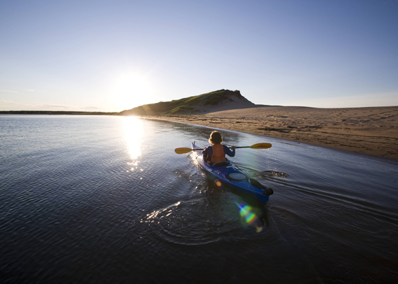 Enjoy beautiful scenery and serenity in PEI National Park.