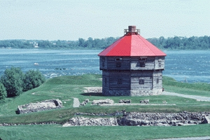 Blockhouse at Coteau-du-Lac National Historic Site of Canada (Que.)