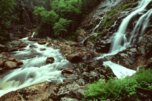 Southeast Brook Falls at Gros Morne National Park of Canada (N.L.)