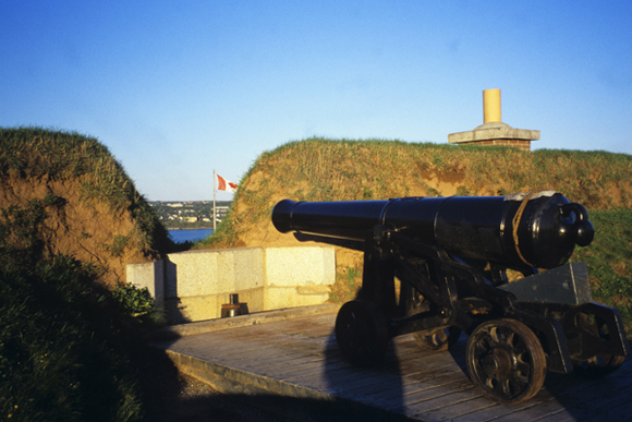 Canon at the Halifax Citadelle