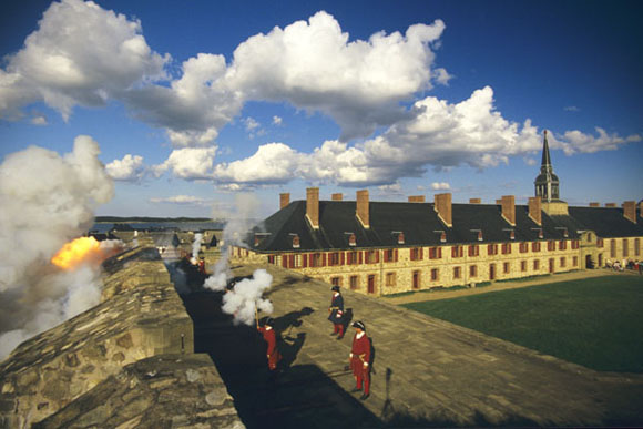 Demonstration at the Fortress of Louisbourg