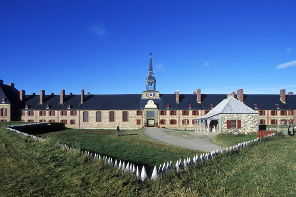 The King's Bastion at the Fortress of Louisbourg