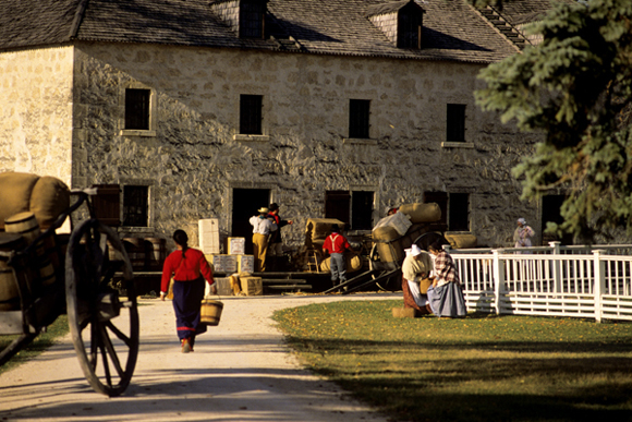 Interpretation at Lower Fort Garry
