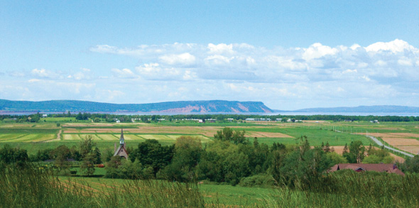Grand Pré National Historic Site of Canada.