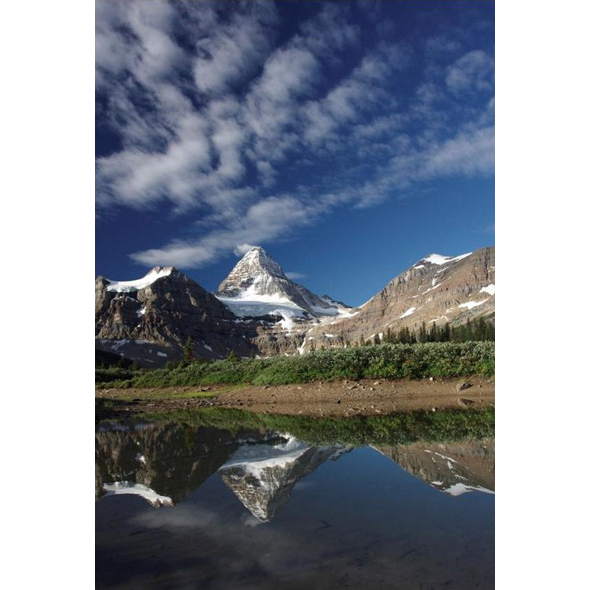 Mount Assiniboine Provincial Park, one of seven parks in the Canadian Rocky Mountain Parks World Heritage site.