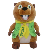 Image of a Parka stuffie.
