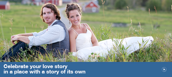 Celebrate your love story in a place with a story of its own